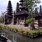 Meru (Pagaodas)  in the Royal Temple of Mengwi, Central Bali by JonathaninBali
