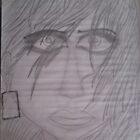 women sketch with dark eyez by SsR09