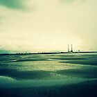 Sandymount at Low Tide by cormacphelan