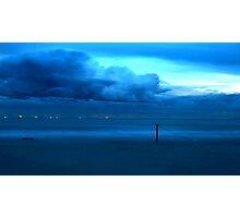 Aqua Storm Photographic Print