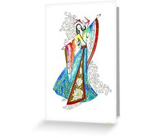 Let him kiss me  Greeting Card