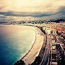 Nice Promenade on an Overcast Afternoon by cormacphelan