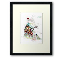 Awake, north wind, and come, south wind!  Framed Print