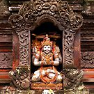 Shrine in a Niche in Campuan Temple, Ubud, Bali by JonathaninBali