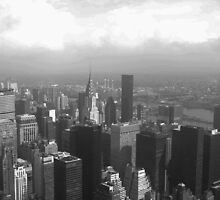 Cloudy New York by justineb
