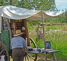 Real Chuckwagon by Al Bourassa