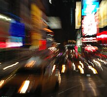 Time Square moves by Diego Marando