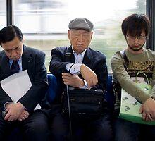 Sleeping Yokohama Commuters by superpope