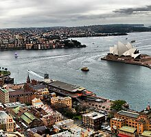 Circular Quay winter pano by andreisky