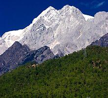 Jade Dragon Snow Mountain Yunan Province Southern China by MiImages