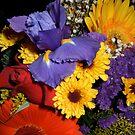 Birthday Bouquet by DragonRoseArt