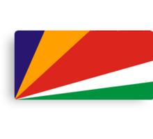 Seychelles, national id Canvas Print