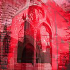 red church by Michelle Brogan