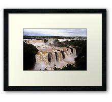 Iguazu Falls Framed Print