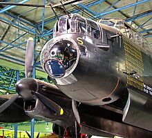 The Avro Lancaster - R.A.F. Museum Hendon by Colin  Williams Photography