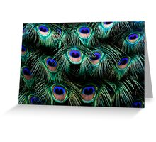 Glowing Eyes Greeting Card
