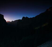 Yosemite Tunnel Light by Adam Bykowski
