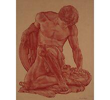 Dying Gladiator Photographic Print
