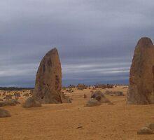 Stormy Pinnacles by Skye  McPherson