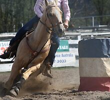 Barrel racing 2 by Fitzard-Fotos