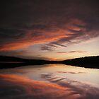 Sunset on the Lake by Rick  Friedle