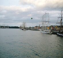 Tall Ships at Waterford City Harbour,Ireland 2005 [view larger] 2 by Pat Duggan