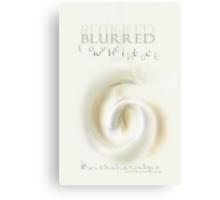 Blurred & Sharp © Vicki Ferrari Canvas Print