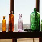 Bottles, Silverton Cafe, Outback Australia by Joe Mortelliti