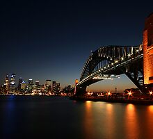 Sydney Harbour Bridge by davecourt