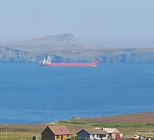 shuttle tankers, Brewick Bay Shetland. by 60North