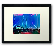 Nelson Mandela Bridge Framed Print