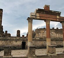 Ancient ruins of Pompeii by creativetravler