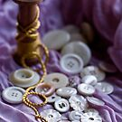 Buttons and Golden Thread by Ilva Beretta