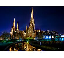 Heavenly Reflections • St Patrick's Cathedral • Melbourne Photographic Print