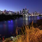 Brisbane at Dusk by Andrew Durick
