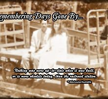Days Gone By... by Greeting Cards by Tracy DeVore