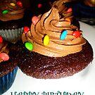 Happy Birhday Cupcakes by Jhanine Love