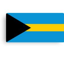 Bahamas, national id Canvas Print