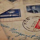Vintage Letters by Trish Woodford