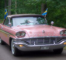 Pink Chrysler by Paola Svensson