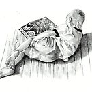 Young Book Lover by Joyce