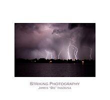 Lake Lightning by Bo Insogna