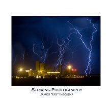 Budweiser Brewery Storm. June 22, 2009  by Bo Insogna