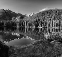 Bear Lake in Shades of Grey by Jen Millard