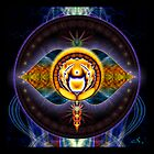 6th Chakra: Third Eye by ecoartopia
