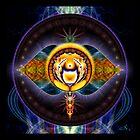 6th Chakra: Third Eye by ecoartopia