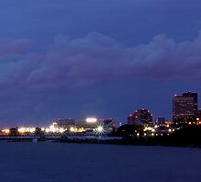 cleveland at night by 1busymom
