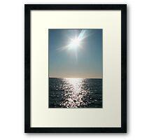 Ocean Romance Framed Print