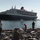 Approaching Dock-Halifax 2004 by George Cousins