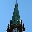 Ottawa Parliament Clock Tower Detail by Daniela Weil